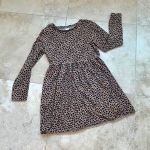 Gymboree Animal Print Girls Dress